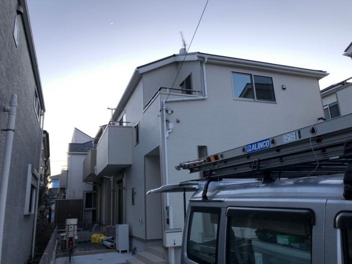 国分寺市戸倉|UHFアンテナ+BSアンテナ工事