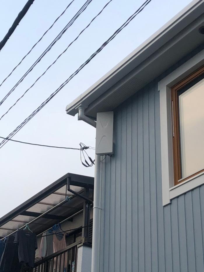 上尾市瓦葺|デザインアンテナ工事