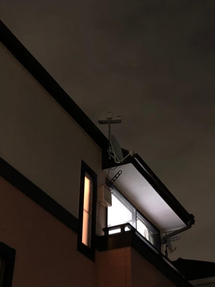 さいたま市浦和区常盤|横型デザインアンテナ+BSアンテナ工事