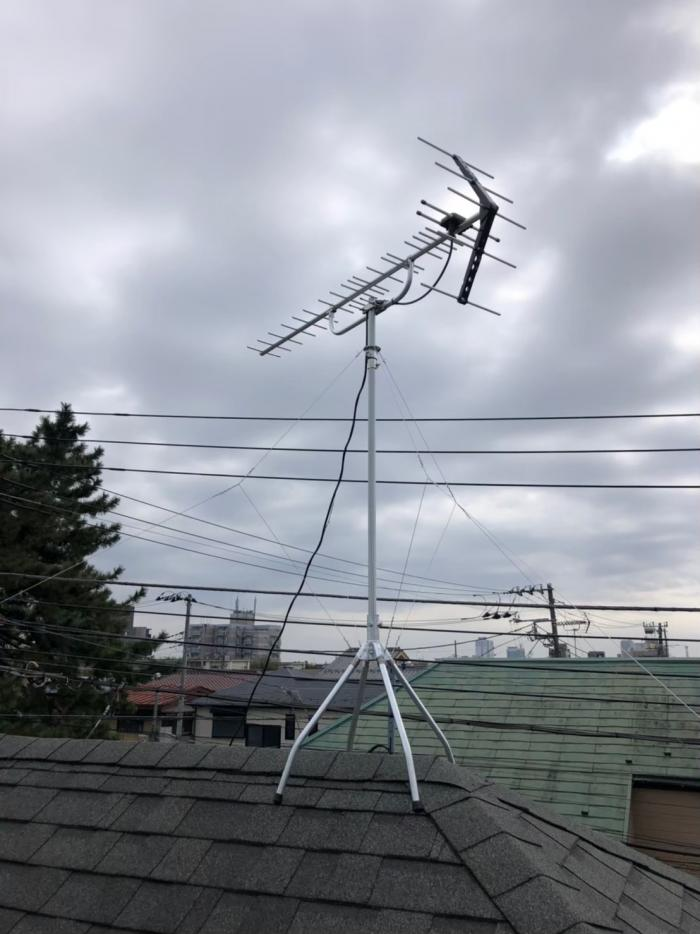 さいたま市浦和区仲町|UHFアンテナ工事