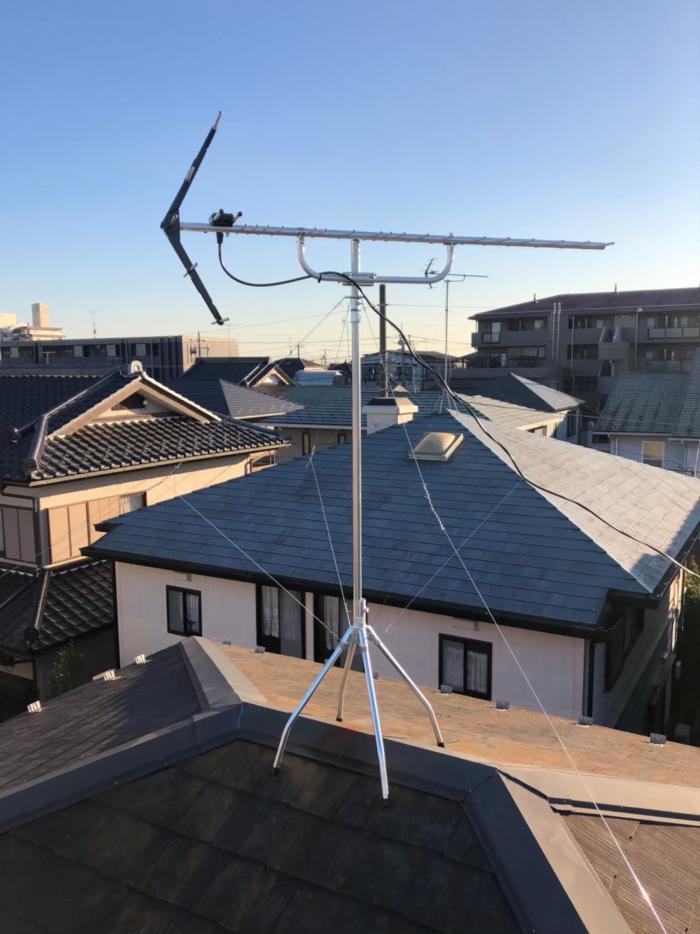 さいたま市桜区町谷|UHFアンテナ工事