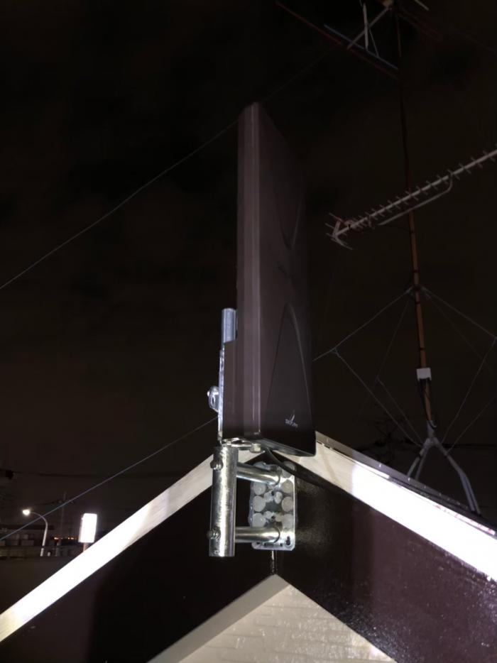 さいたま市南区内谷|デザインアンテナ工事