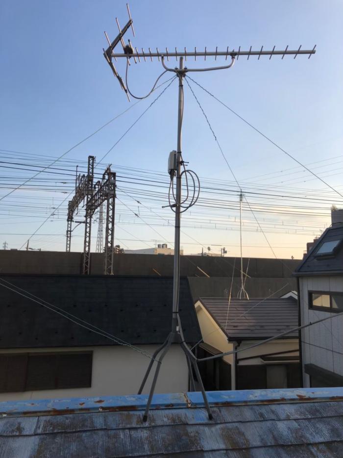 葛飾区青戸|UHFアンテナ工事