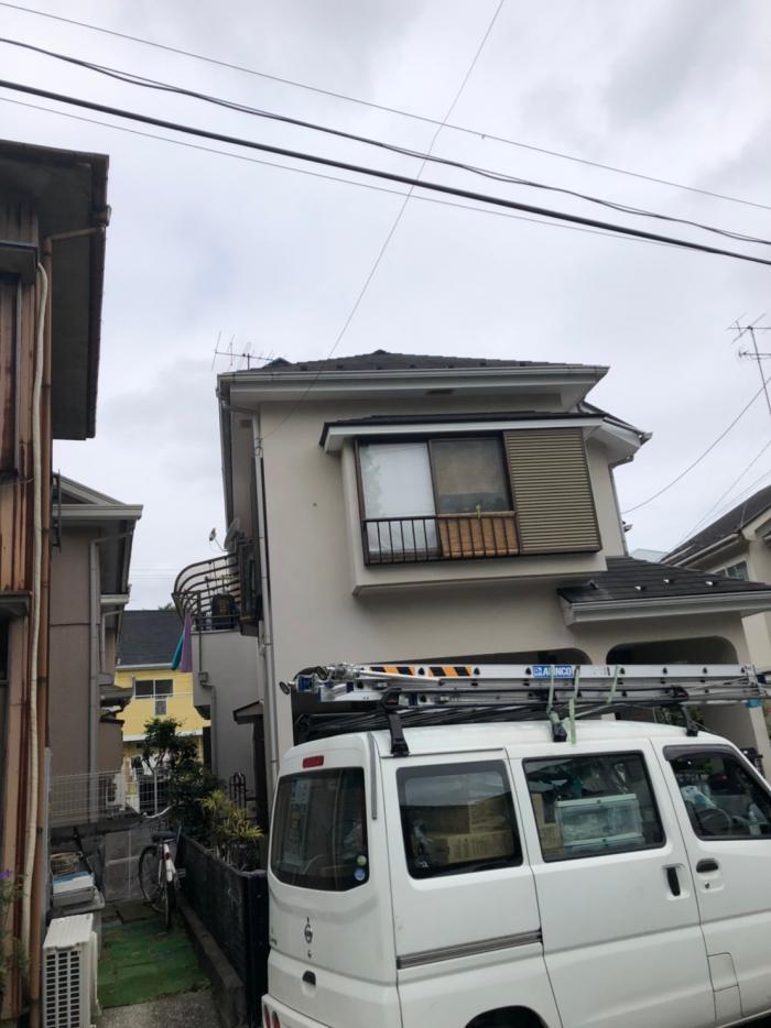 横浜市中区蓑沢|BSアンテナ追加工事