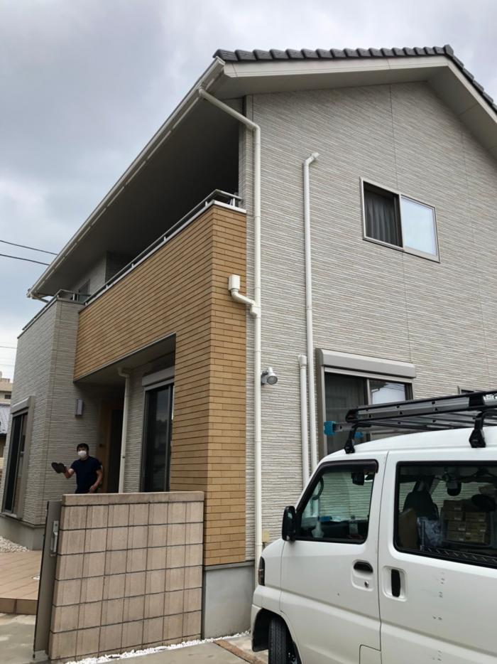上尾市愛宕|デザインアンテナ工事