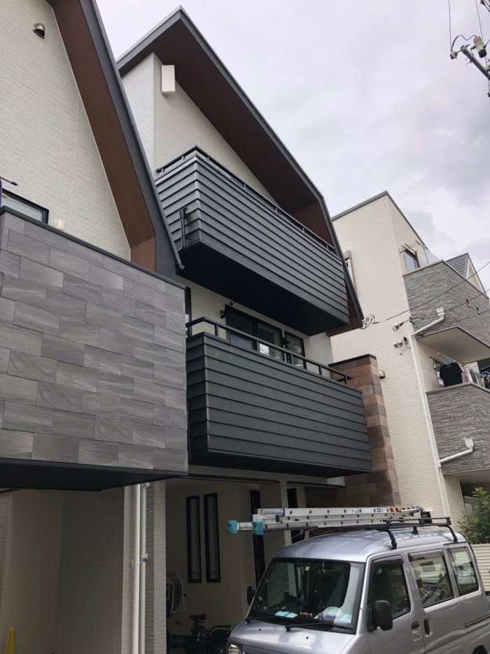 豊島区南長崎|デザインアンテナ設置工事