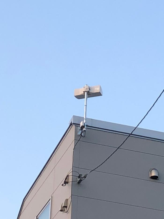さいたま市大宮区上小町|横型デザインアンテナ工事
