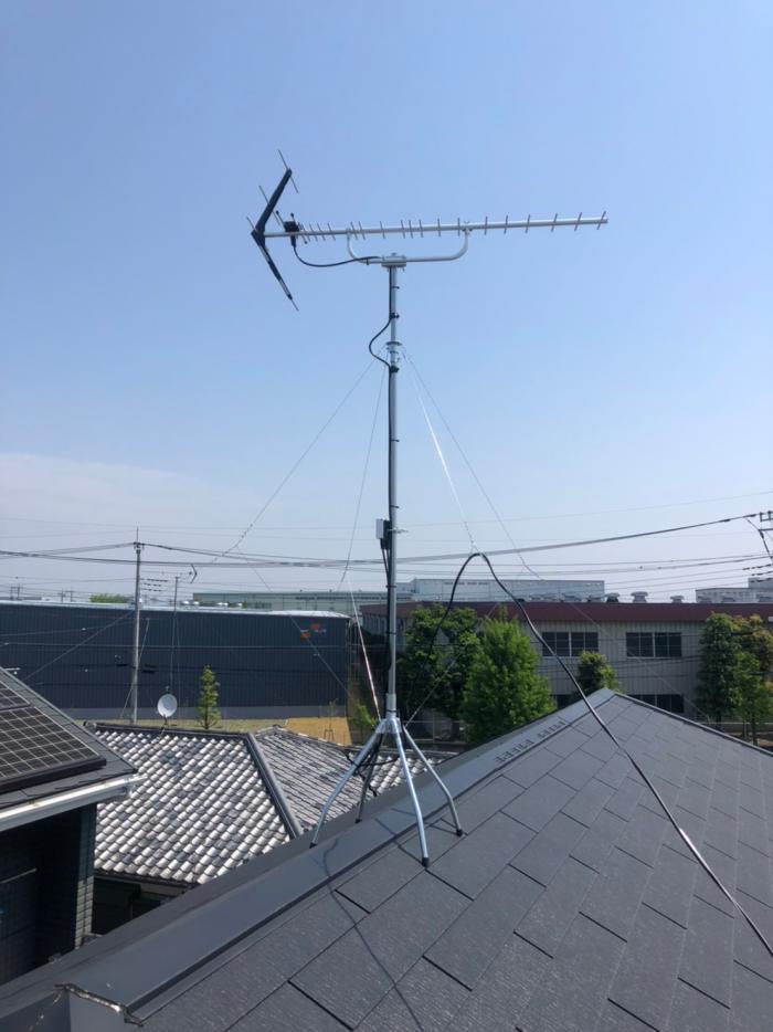 さいたま市大宮区大原|UHFアンテナ工事