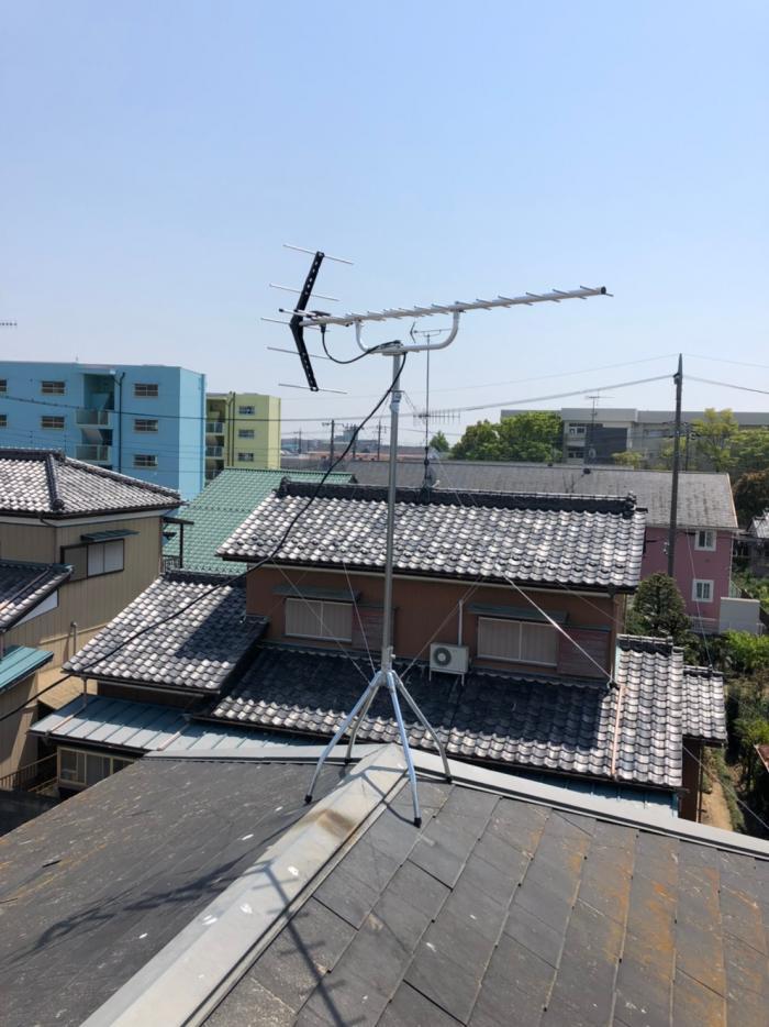 さいたま市大宮区北袋町|UHFアンテナ工事