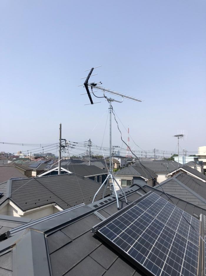 さいたま市見沼区新堤|UHFアンテナ工事
