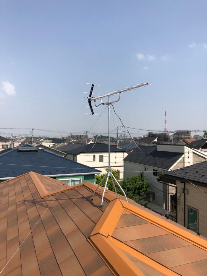 さいたま市見沼区中川|UHFアンテナ工事