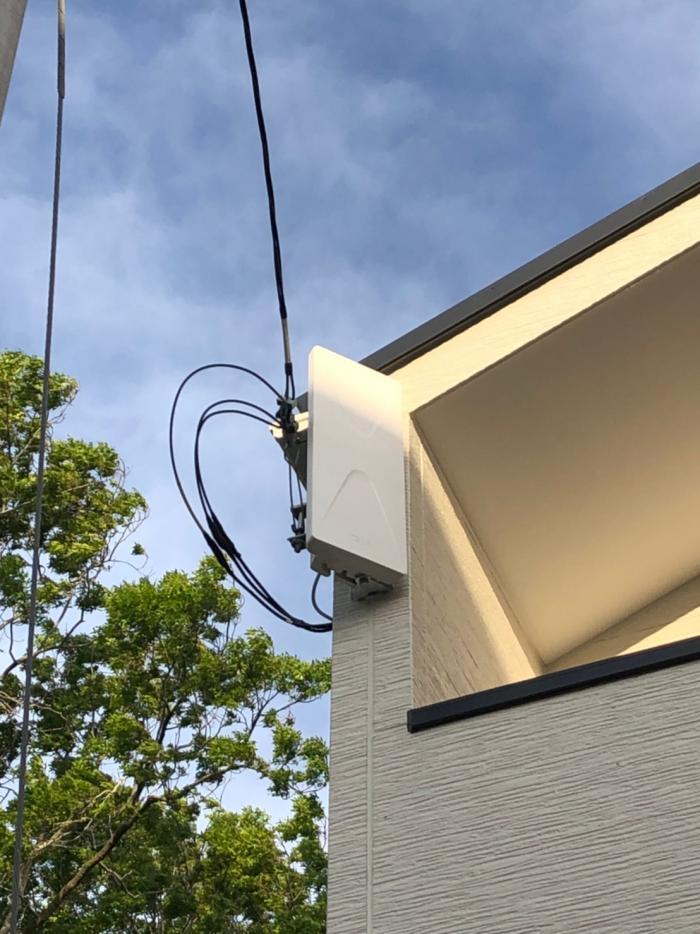 さいたま市中央区大戸|デザインアンテナ工事