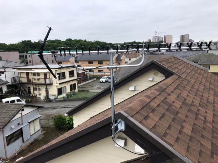 さいたま市中央区桜丘|高性能UHFアンテナ工事