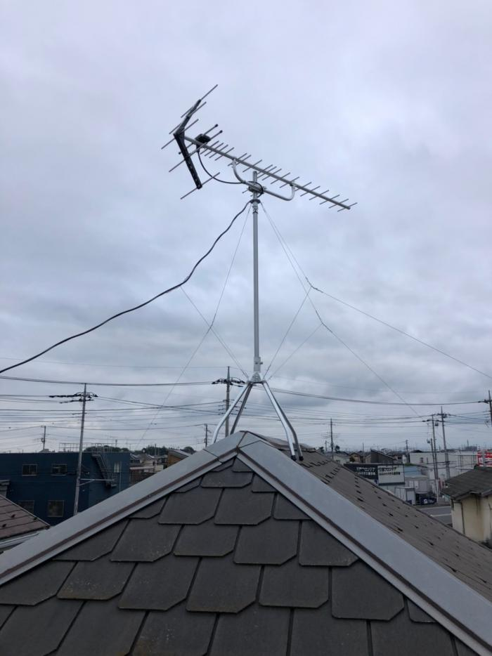 さいたま市桜区大久保領家|UHFアンテナ工事