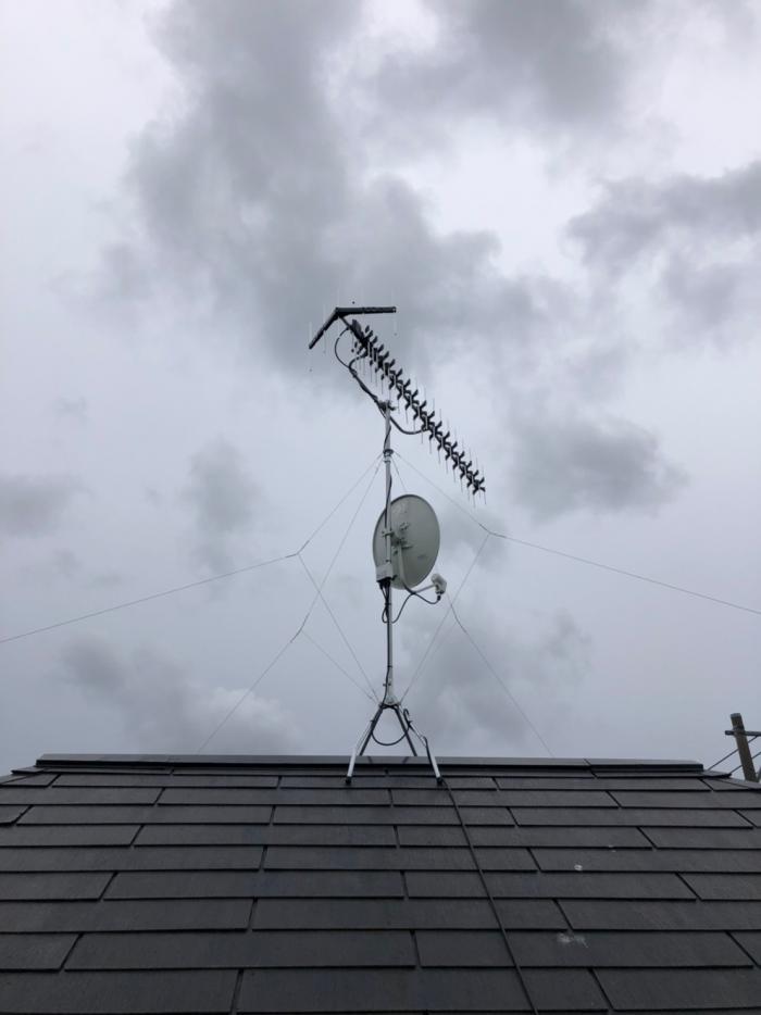 さいたま市浦和区上木崎|高性能UHFアンテナ+BSアンテナ工事