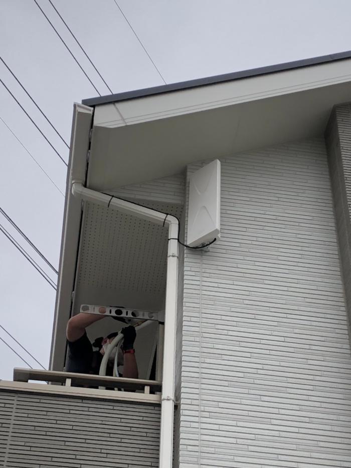 行田市持田|デザインアンテナ工事