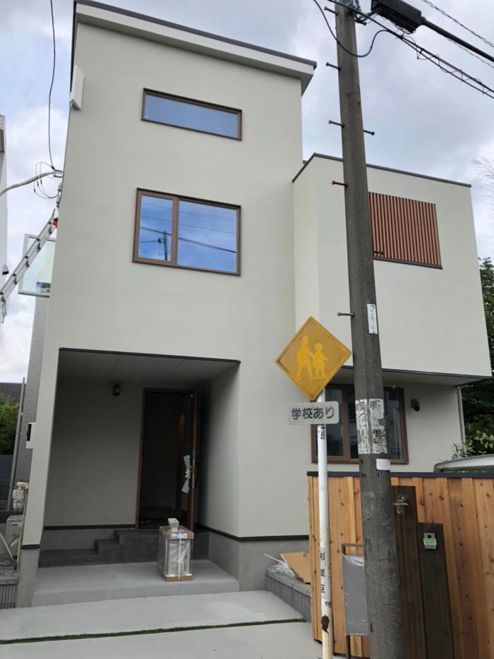 杉並区成田西|デザインアンテナ工事