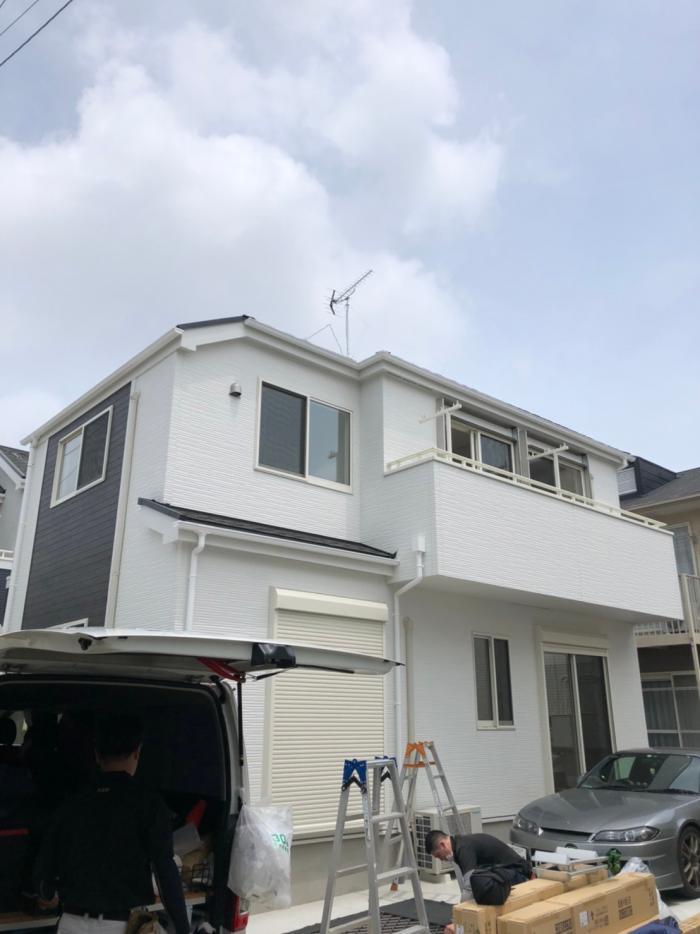 上尾市緑丘|UHFアンテナ工事