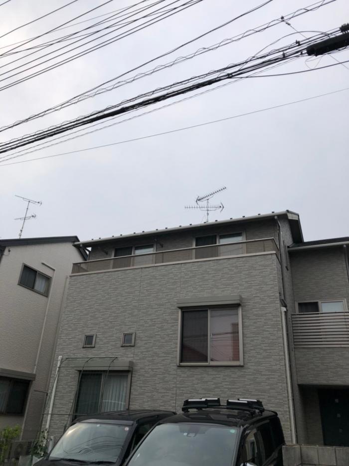 吉川市平沼|高性能UHFアンテナ工事