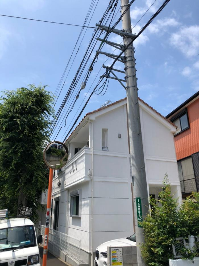 座間市入谷西|高性能UHFアンテナ工事
