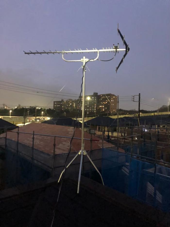 千葉市美浜区稲毛海岸|UHFアンテナ工事