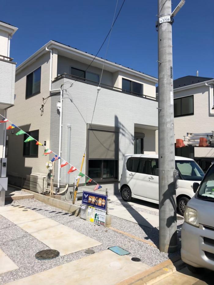 所沢市花園|デザインアンテナ 工事