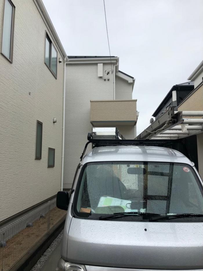 西東京市泉町|デザインアンテナ工事|タクトホーム