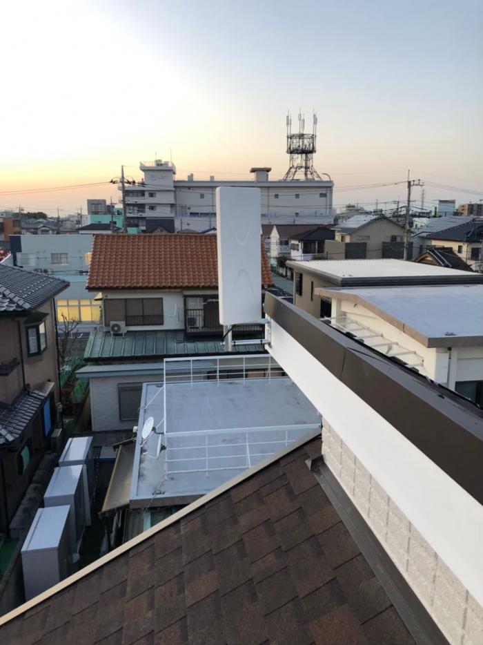 上尾市緑ヶ丘|デザインアンテナ工事|ユニバーサルホーム