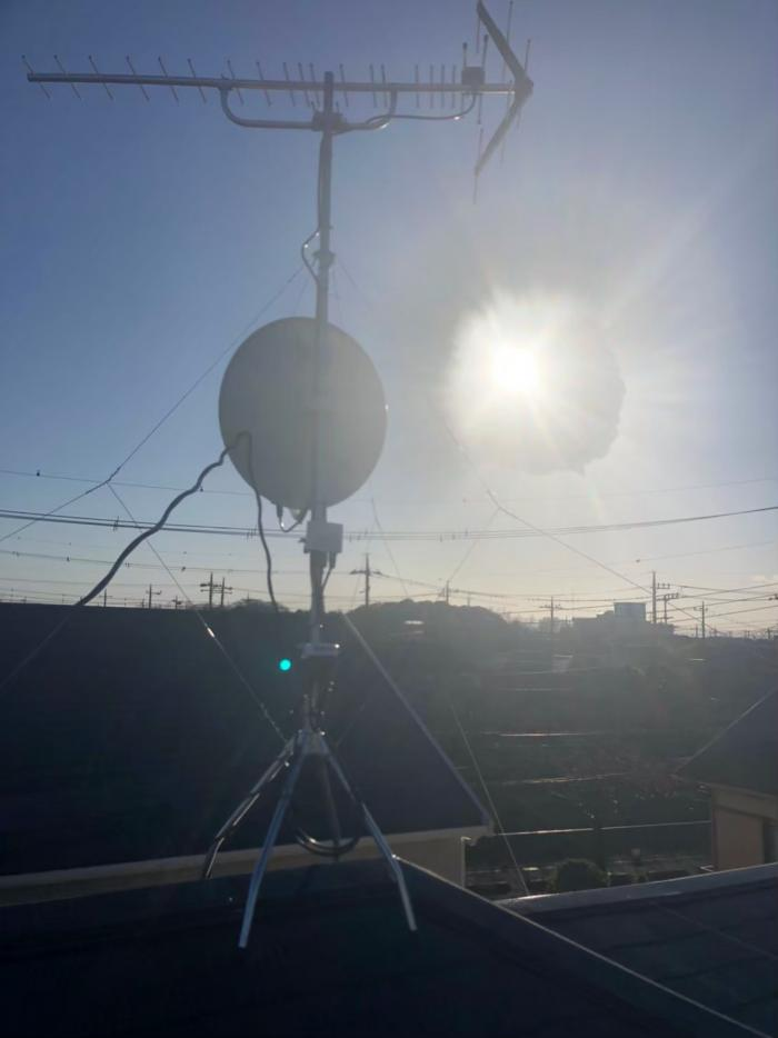 久喜市久喜北|八木式+BS/CSアンテナ+撤去+配線工事