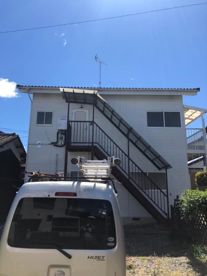 栃木市藤岡町藤岡|八木式アンテナ設置+撤去工事