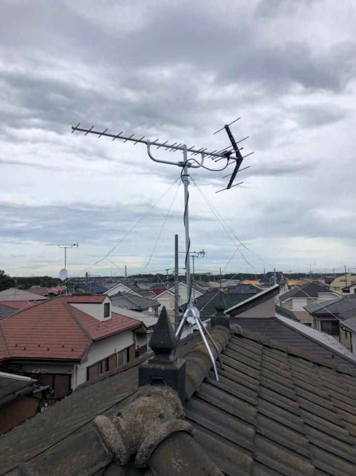 船橋市松が丘|UHFアンテナ工事