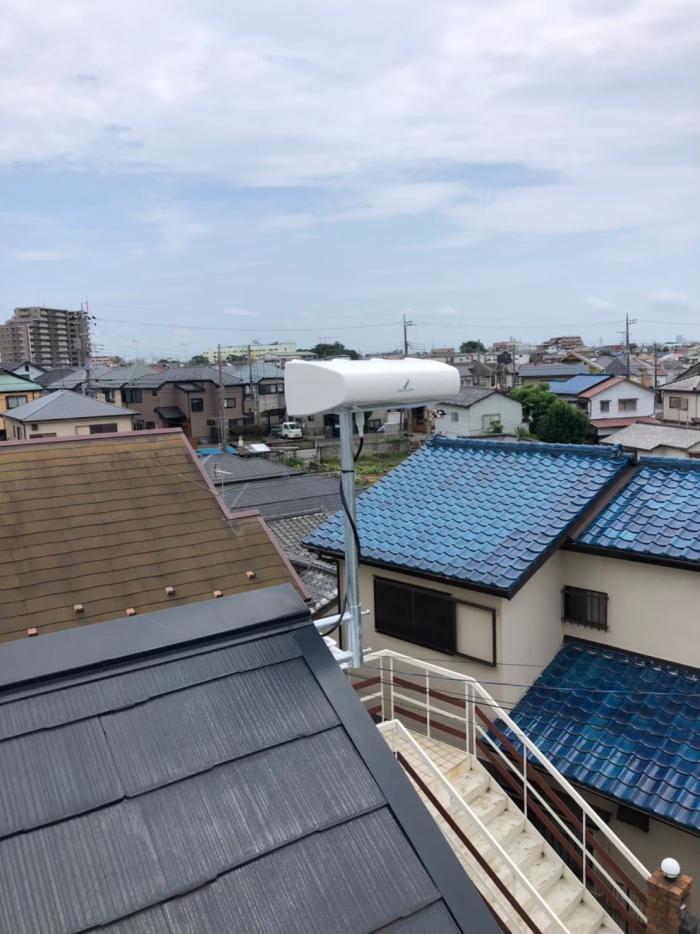 船橋市二宮|横型デザインアンテナ工事