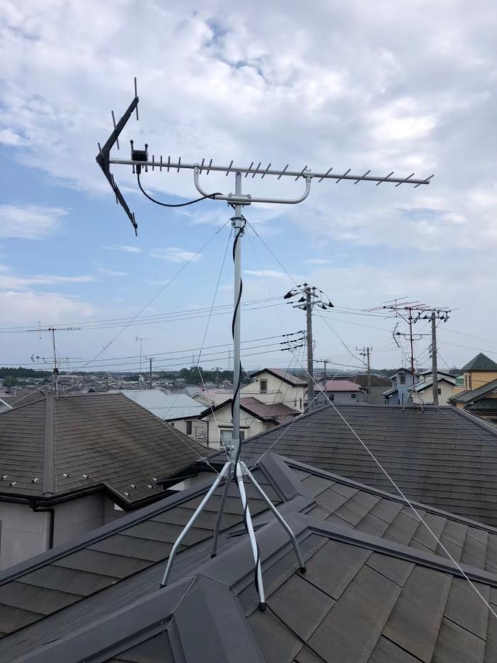 八千代市大和田新田|UHFアンテナ工事