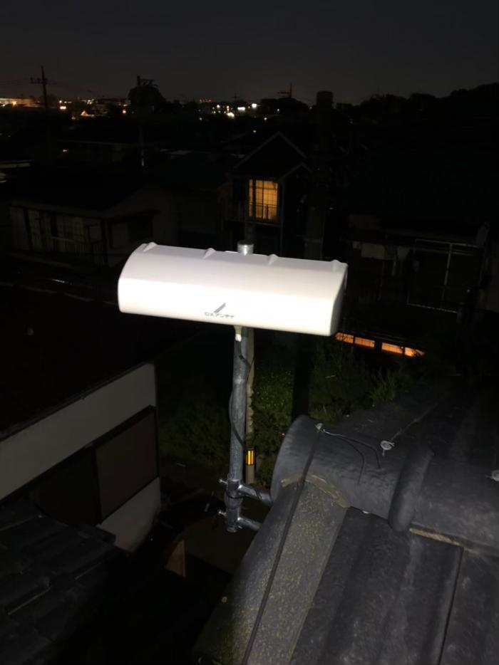 さいたま市見沼区御蔵|横型デザインアンテナ工事