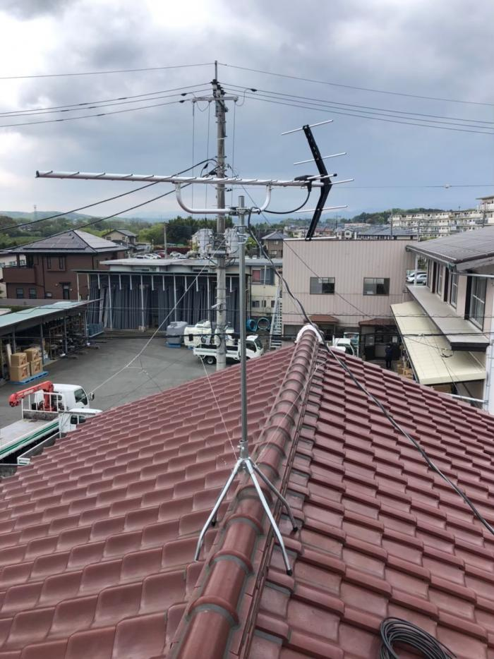 狭山市笹井|八木式アンテナ工事