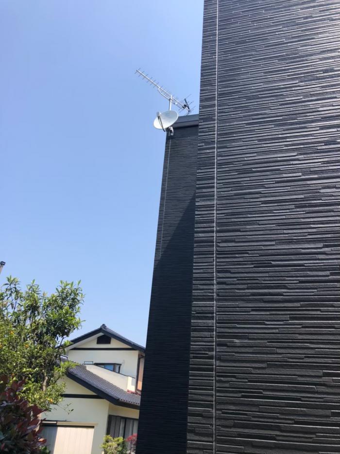 成田市中台|八木式+BS/CSアンテナ工事