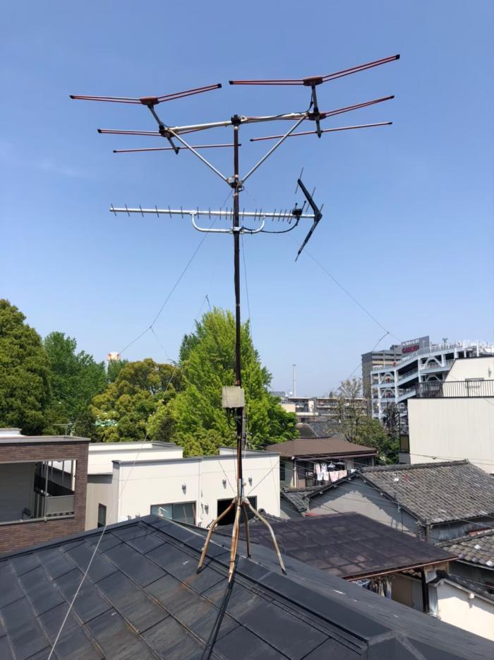 江東区亀戸|八木式アンテナ工事