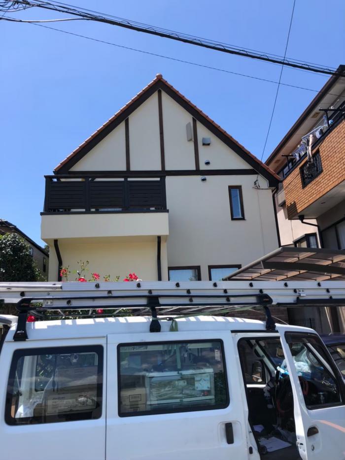 さいたま市北区土呂町 デザインアンテナ工事