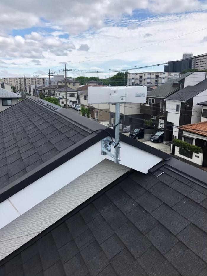 所沢市中新井 デザインアンテナ工事 住協