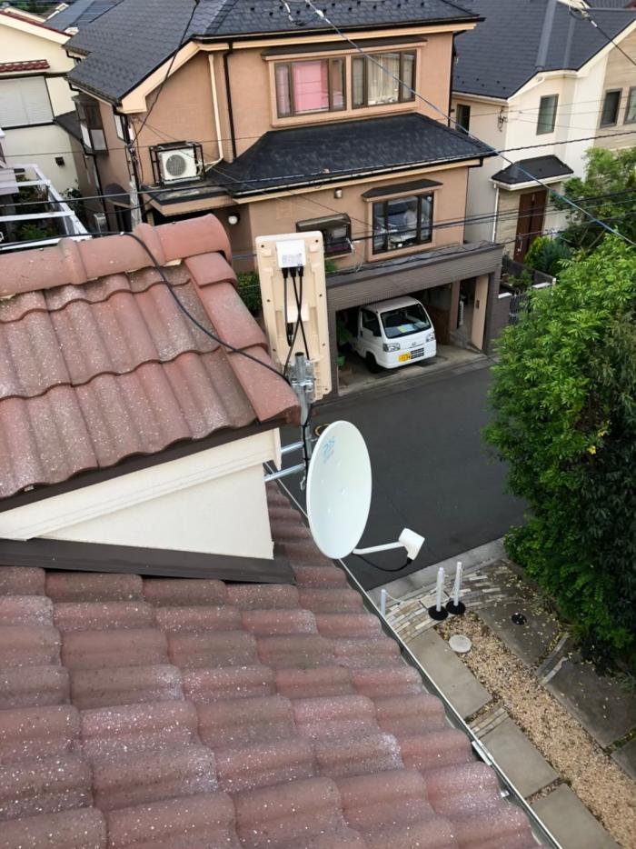 西東京市住吉町|デザイン+BS/CSアンテナ工事