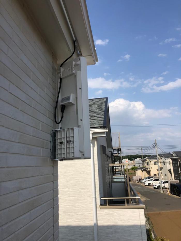 清瀬市中清戸|デザインアンテナ工事|飯田産業