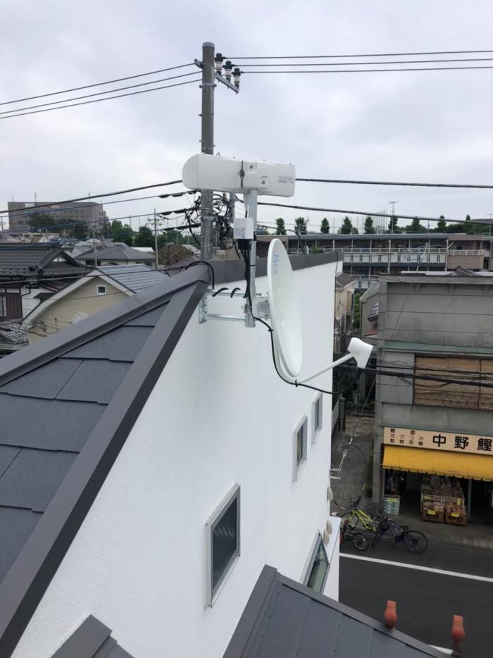 西東京市東伏見|デザイン+BS/CSアンテナ工事|ライフハウジング