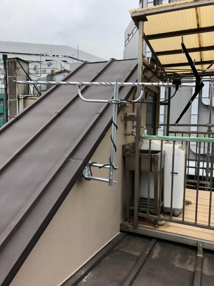 渋谷区広尾|八木式アンテナ工事