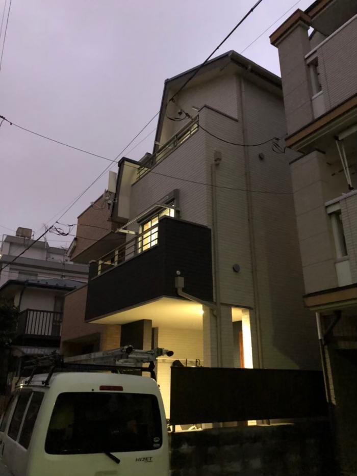 豊島区南長崎|デザイン+BS/CSアンテナ工事