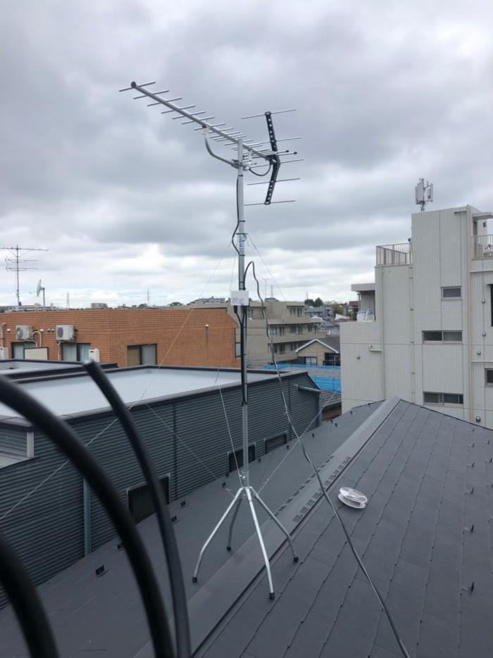 横浜市神奈川区六角橋|八木式アンテナ工事