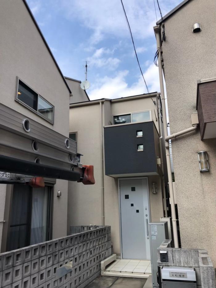 大田区南馬込|八木式+BS/CSアンテナ工事