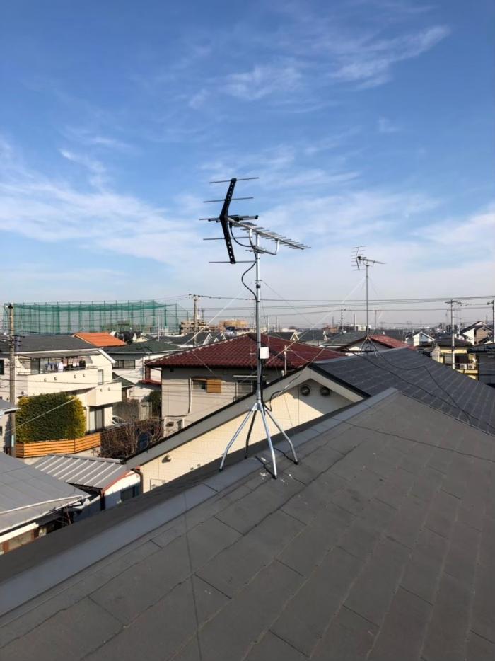 小平市津田町|UHFアンテナ工事