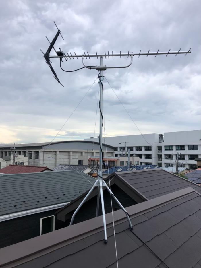 川崎市中原区木月大町|UHFアンテナ工事