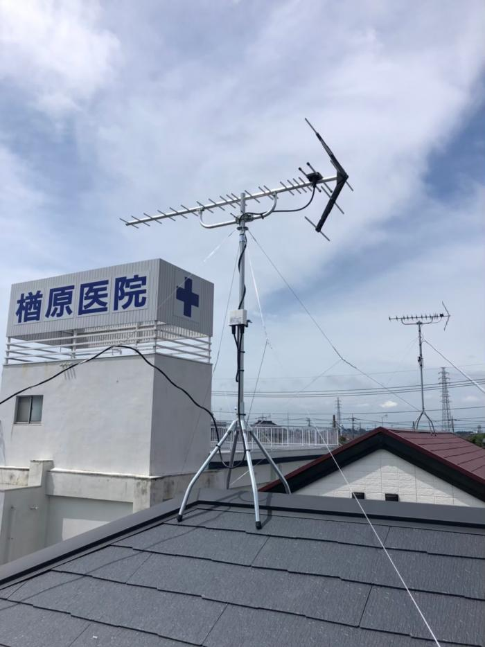 北本市東間|UHFアンテナ工事