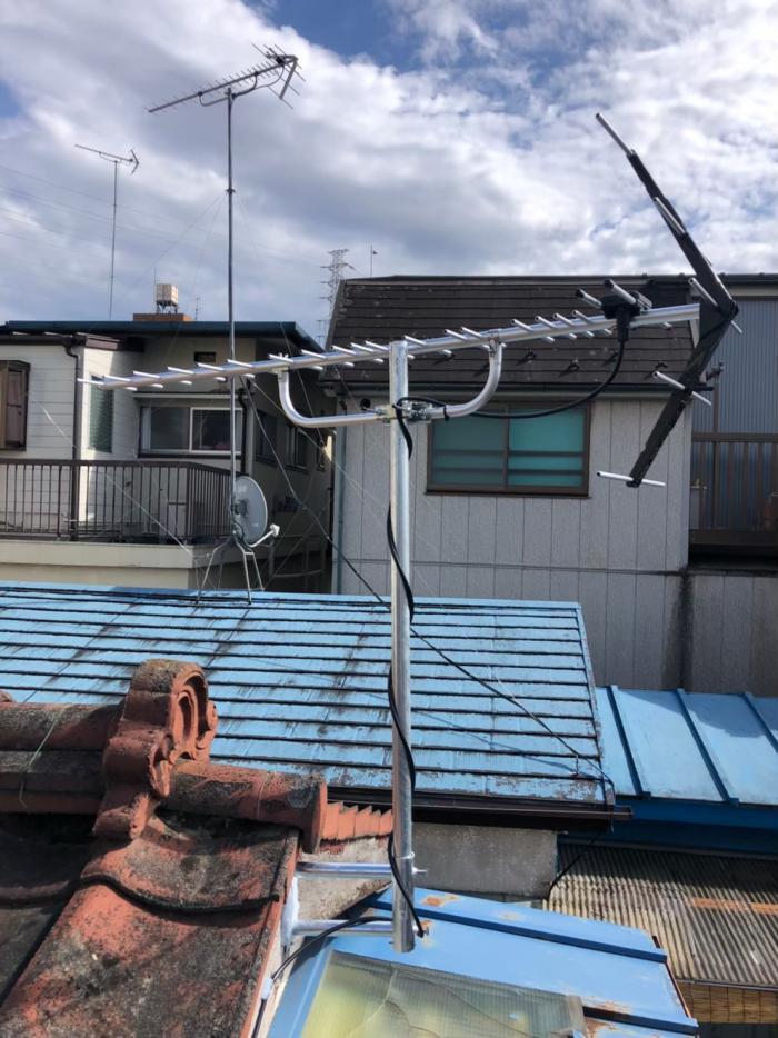 板橋区高島平|UHFアンテナ工事